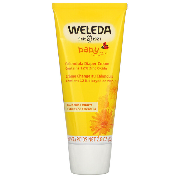 Baby, Calendula Diaper Cream, 2.8 oz (81 g)