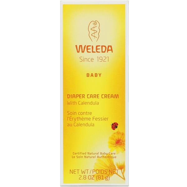 Weleda, Baby, Diaper Care Cream with Calendula, 2.8 oz (81 g) (Discontinued Item)