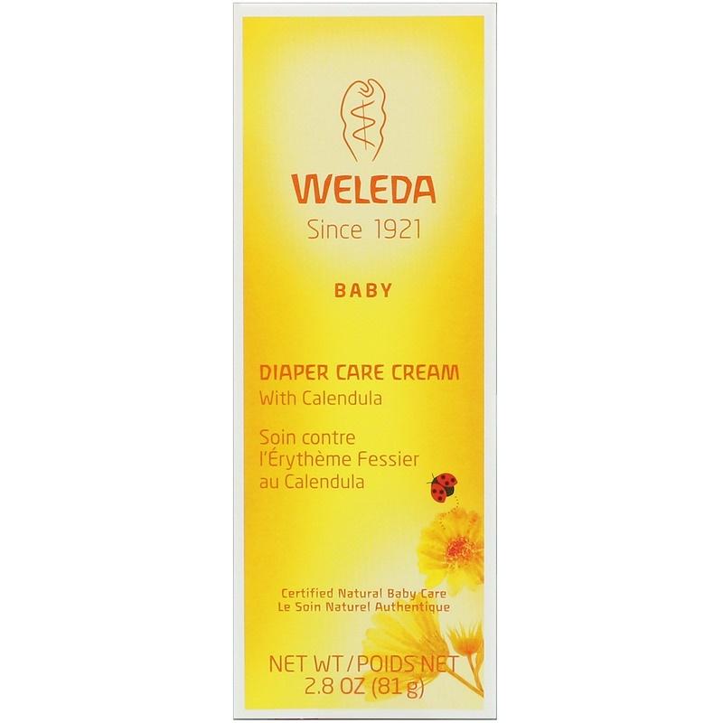 Baby, Diaper Care Cream with Calendula, 2.8 oz (81 g)