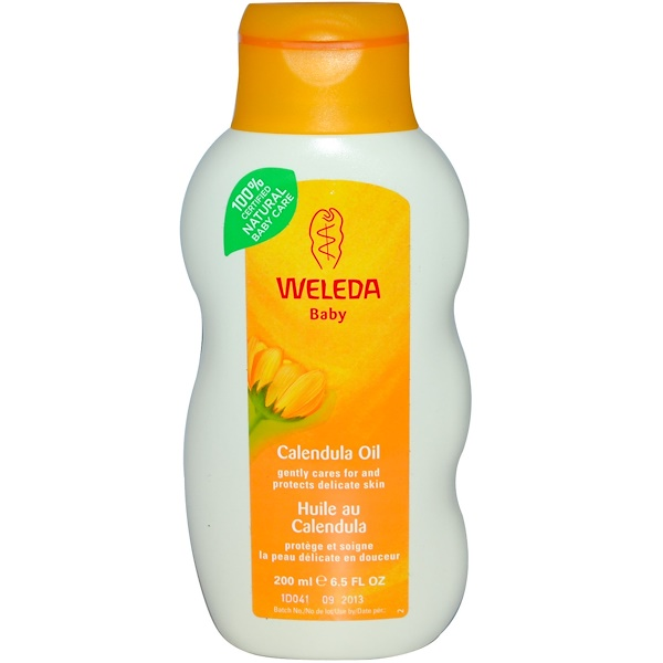 Weleda, Baby, масло календулы, 200 мл (Discontinued Item)