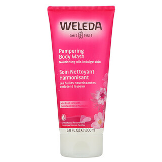 Weleda, Pampering Body Wash, Wild Rose Extracts, 6.8 fl oz (200 ml)