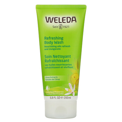 Weleda Refreshing Body Wash, Citrus Extracts, 6.8 fl oz (200 ml)