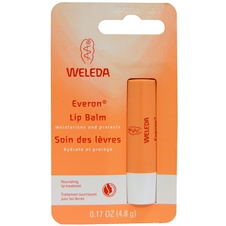 Weleda, Everon Lip Balm, 0.17 oz (4.8 g)