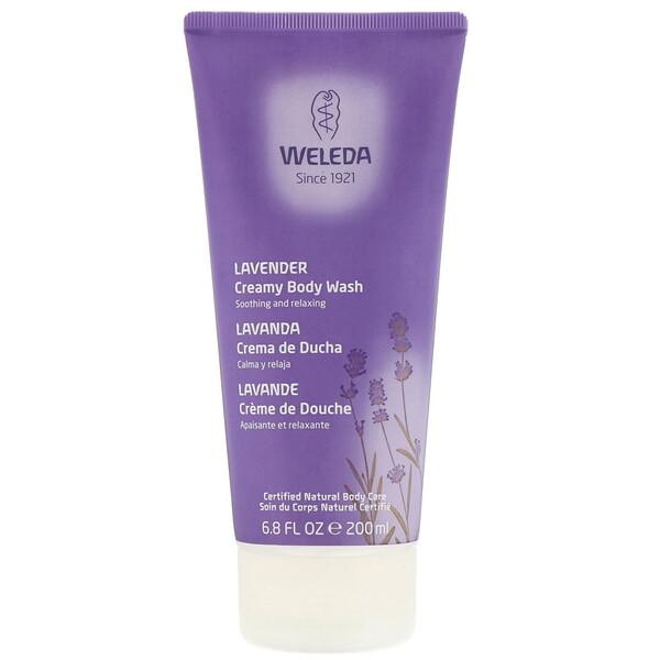 Jabón líquido cremoso para el cuerpo, Lavanda, 200ml (6,8oz.líq.)