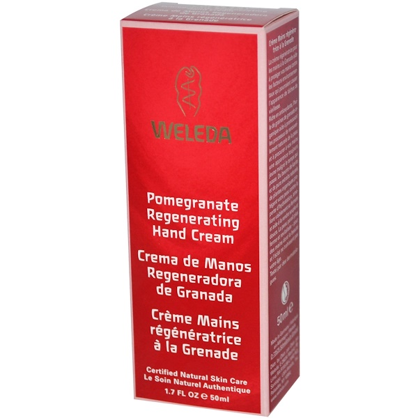 Weleda, Regenerating Hand Cream, Pomegranate,  1.7 fl oz (50 ml)
