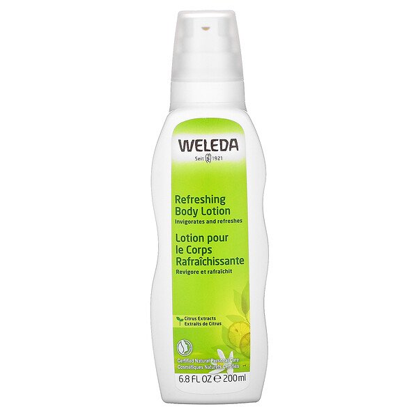Weleda, Refreshing Body Lotion, Citrus Extracts, 6.8 fl oz (200 ml) (Discontinued Item)