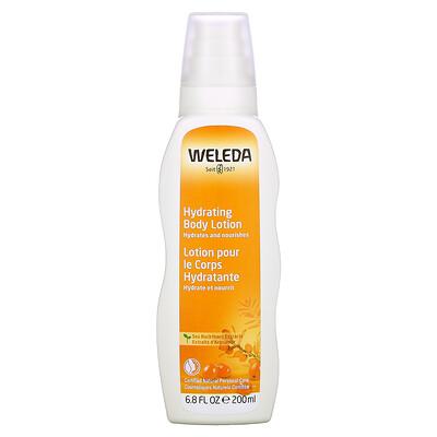Купить Weleda Hydrating Body Lotion, Sea Buckthorn, 6.8 fl oz (200 ml)