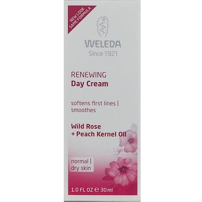 Обновляющий дневной крем, Экстракты дикой розы, Для нормальной и сухой кожи, 1,0 ж. унц.(30 мл)