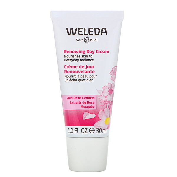 Weleda, Renewing Day Cream, Wild Rose Extracts, 1.0 fl oz (30 ml)