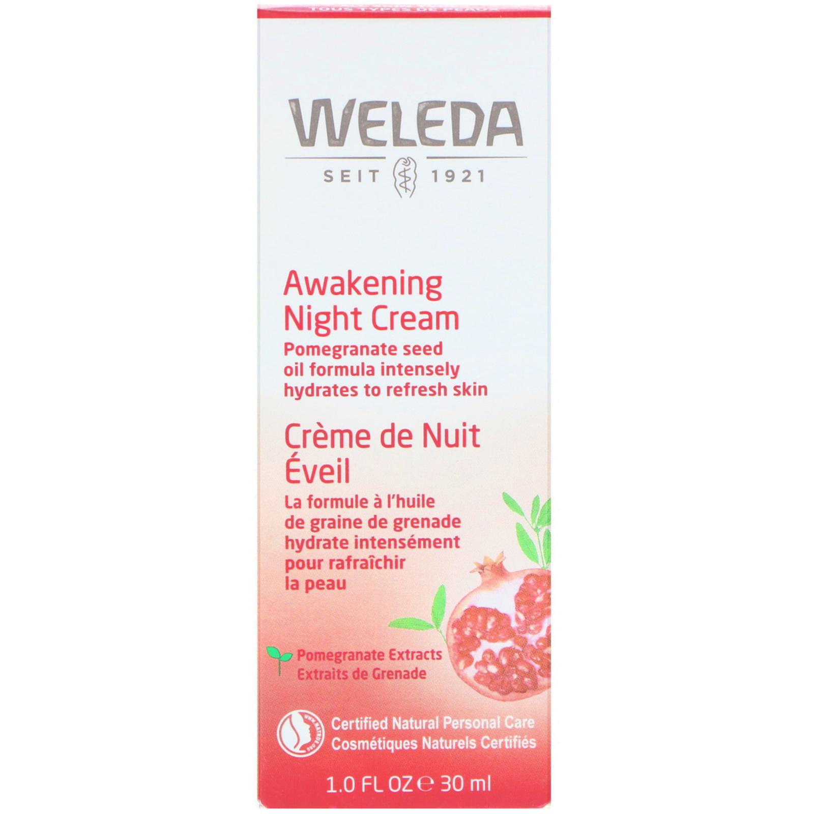 Weleda - Pomegranate Firming Night Cream - 30ml/1oz Carmex Value Pack Lip Balm, Original Flavored - 3 Ea, 6 Pack