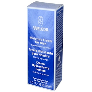 Weleda, Moisture Cream for Men, 1.0 fl oz (30 ml)