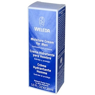 Weleda, Moisture Cream for Men (Crema Humectadora para Hombres), 1.0 fl oz (30 ml)