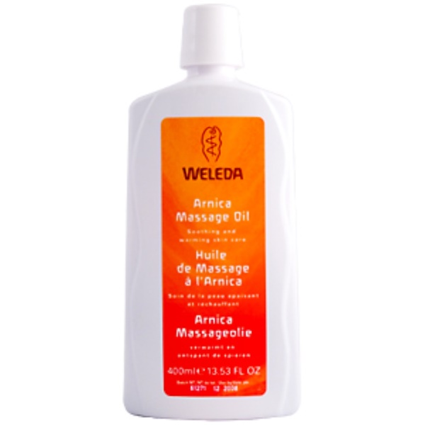 Weleda, Arnica Massage Oil, 13.53 fl oz (400 ml) (Discontinued Item)