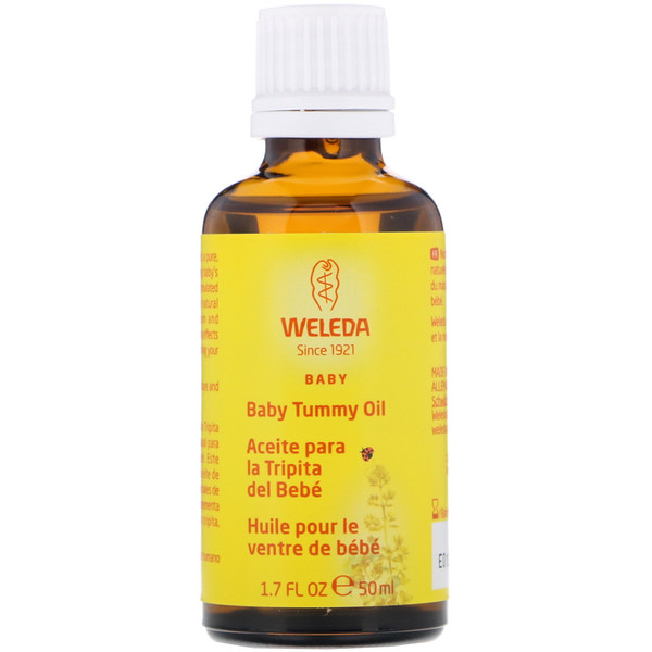 Baby Tummy Oil, 1.7 fl oz (50 ml)