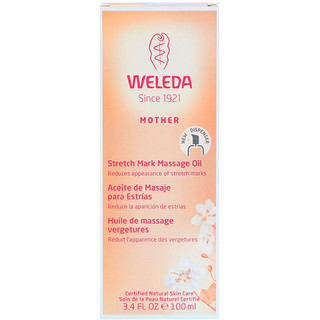 Weleda, Mother, Stretch Mark Massage Oil, 3.4 fl oz (100 ml)