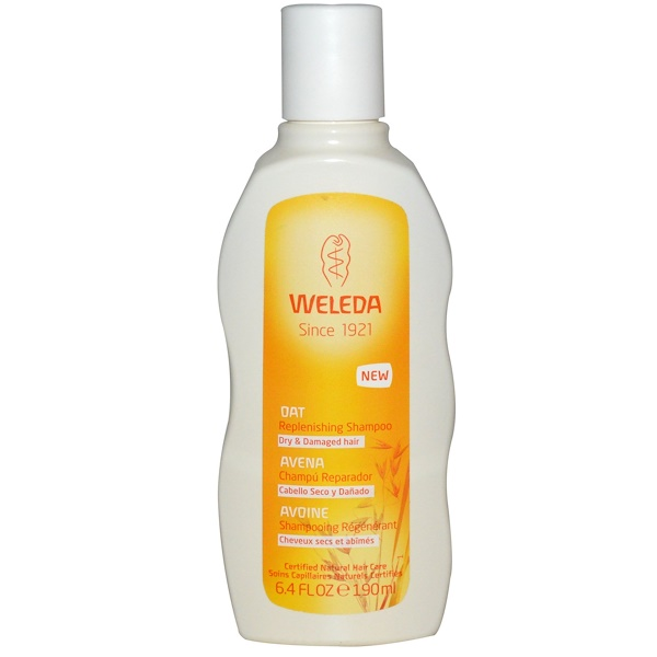 Weleda, Oat Replenishing Shampoo, 6.4 fl oz (190 ml) (Discontinued Item)