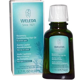 Weleda, Rosemary Conditioning Hair Oil, 1.7 fl oz (50 ml)