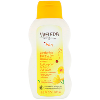 Weleda, ベビー用 ボディローション カレンデュラ 6.8液量オンス (200 ml)