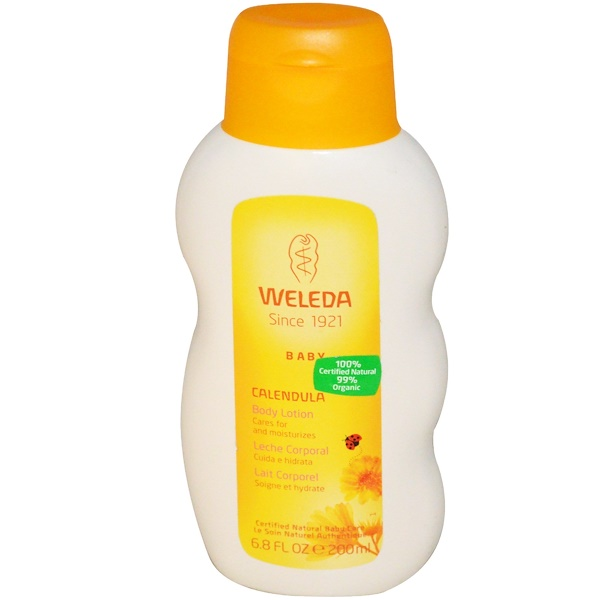 Weleda, Baby, Body Lotion, Calendula, 6.8 fl oz (200 ml)