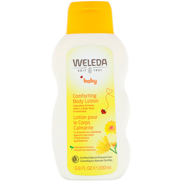 Weleda, Baby, Comforting Body Lotion, Calendula, 6.8 fl oz (200 ml)