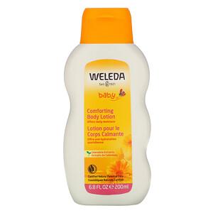 Веледа, Baby, Comforting Body Lotion, Calendula, 6.8 fl oz (200 ml) отзывы