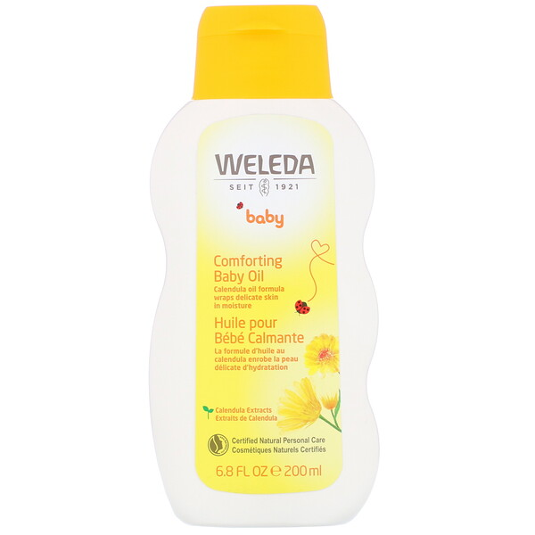 Comforting Baby Oil, Calendula, 6.8 fl oz (200 ml)