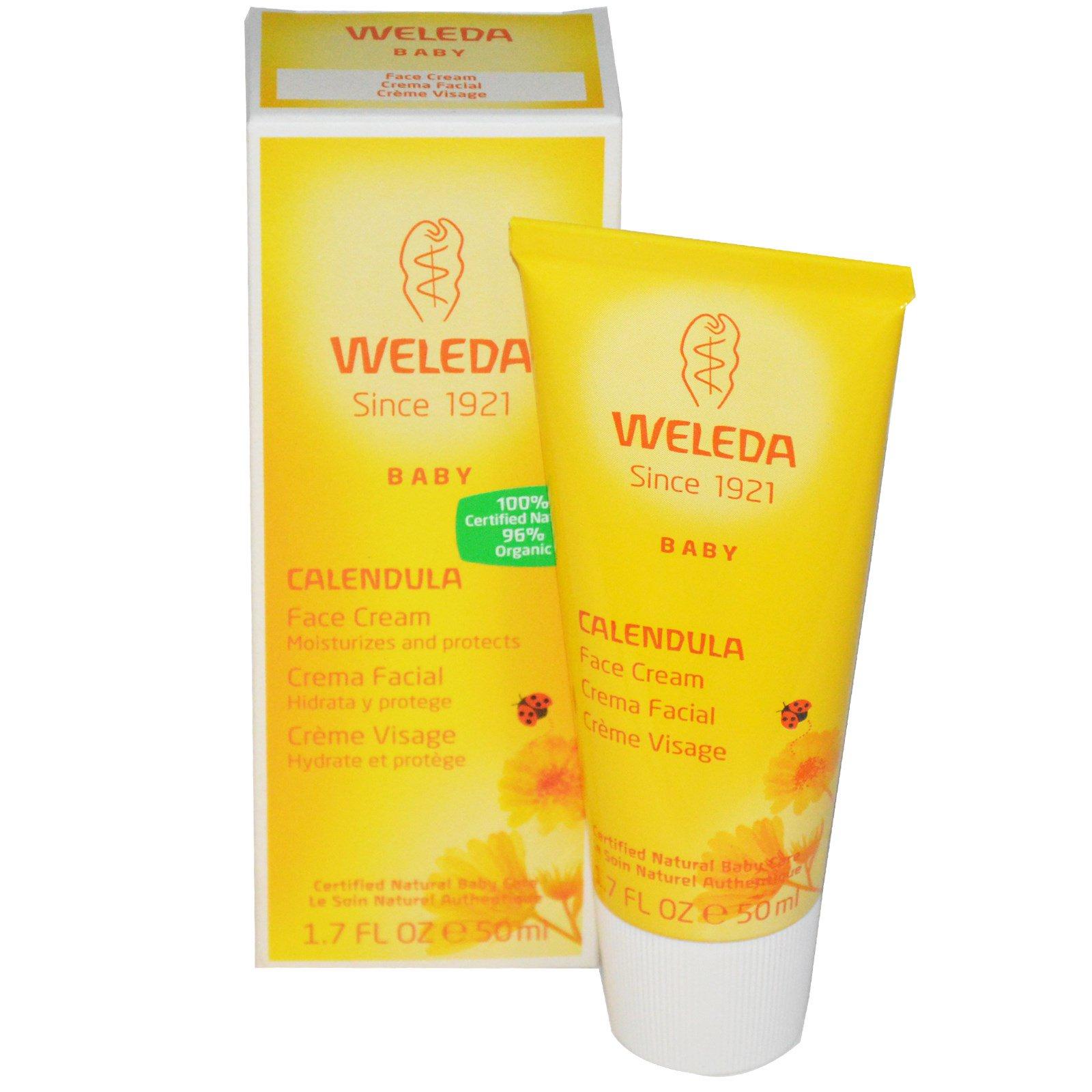 weleda calendula face cream acne