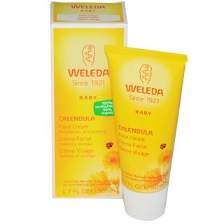 Weleda, Baby, Calendula Face Cream, 1.7 fl oz (50 ml)