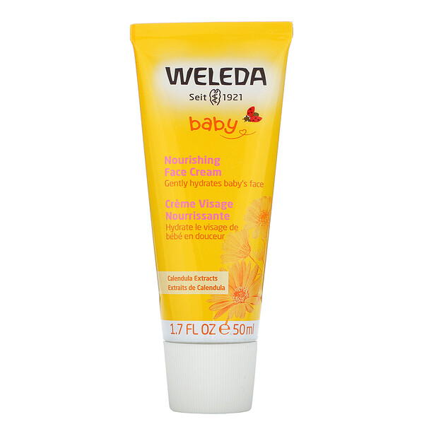 Weleda, Baby,  Nourishing Face Cream, Calendula Extracts, 1.7 fl oz (50 ml)