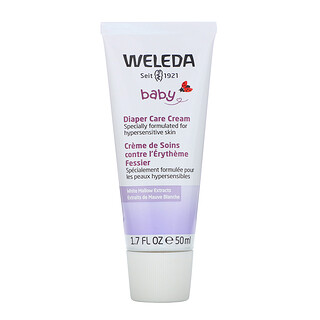 Weleda, Baby, Diaper Care Cream, White Mallow Extracts, 1.7 fl oz (50 ml)