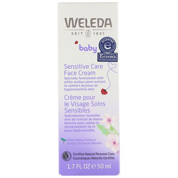 Baby, Sensitive Care Face Cream, 1.7 fl oz (50 ml)