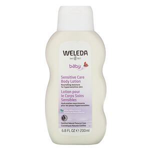 Веледа, Baby, Sensitive Care Body Lotion, White Mallow Extracts, 6.8 fl oz (200 ml) отзывы