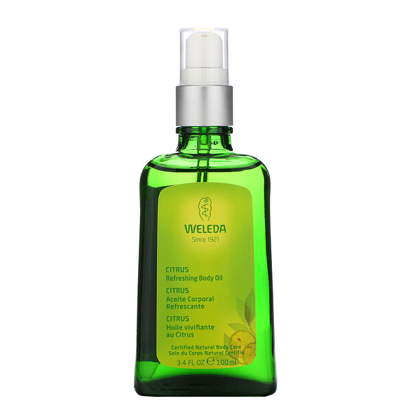 Weleda, Refreshing Body & Beauty Oil, Citrus Extracts, 3.4 fl oz (100 ml) (Discontinued Item)