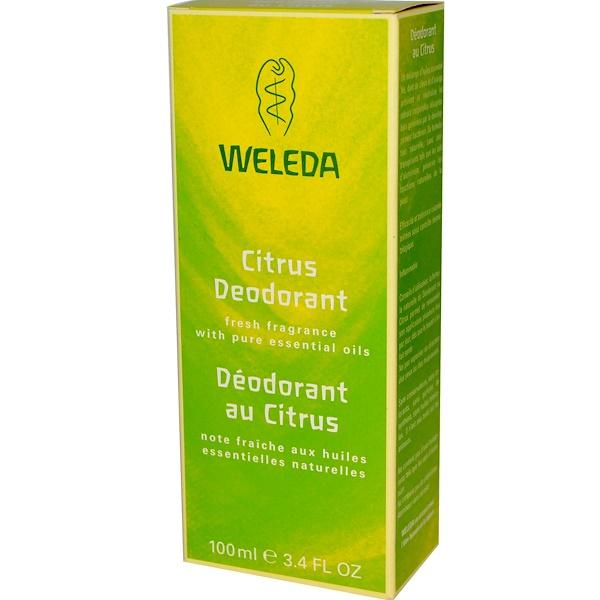 Weleda, Citrus Deodorant, 3.4 fl oz (100 ml) (Discontinued Item)