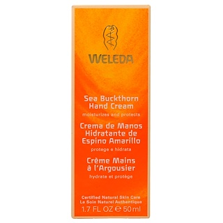Weleda, Hand Cream, Sea Buckthorn, 1.7 oz (50 ml)