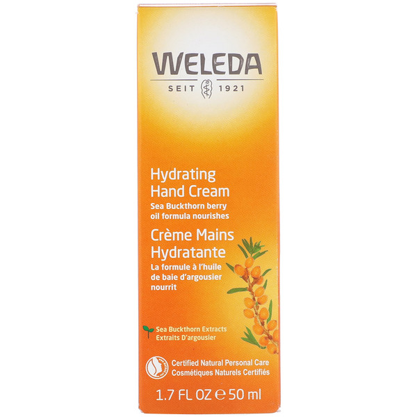 Weleda, Hydrating Hand Cream, 1.7 oz (50 ml)