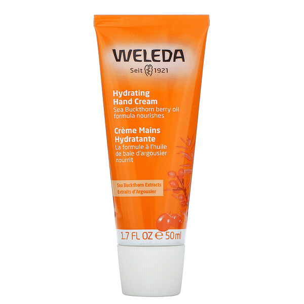 Weleda, Hydrating Hand Cream, 1.7 oz (50 ml) (Discontinued Item)