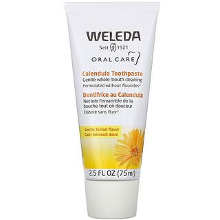 Weleda, Oral Care, Calendula Toothpaste, Fennel, 2.5 fl oz (75 ml)