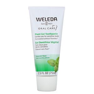 Веледа, Oral Care, Plant Gel Toothpaste, Spearmint, 2.5 fl oz (75 ml) отзывы покупателей