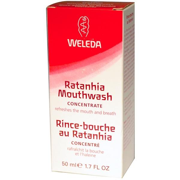 Weleda, Ratanhia Mouthwash Concentrate, 1.7 fl oz (50 ml) (Discontinued Item)