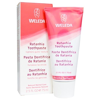 Weleda, Ratanhia Toothpaste, 2.5 fl oz (75 ml)