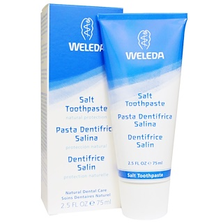Weleda, Salt Toothpaste, 2.5 fl oz (75 ml)