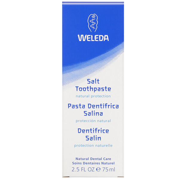Weleda, Dentifrice au sel, 75 ml