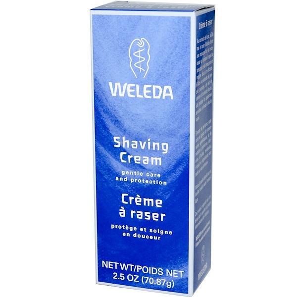 Weleda, 剃須膏,2、5盎司(70、87克)