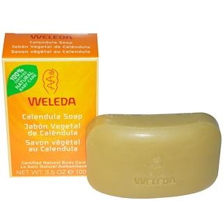 Weleda, Calendula Soap, 3.5 oz (100 g)