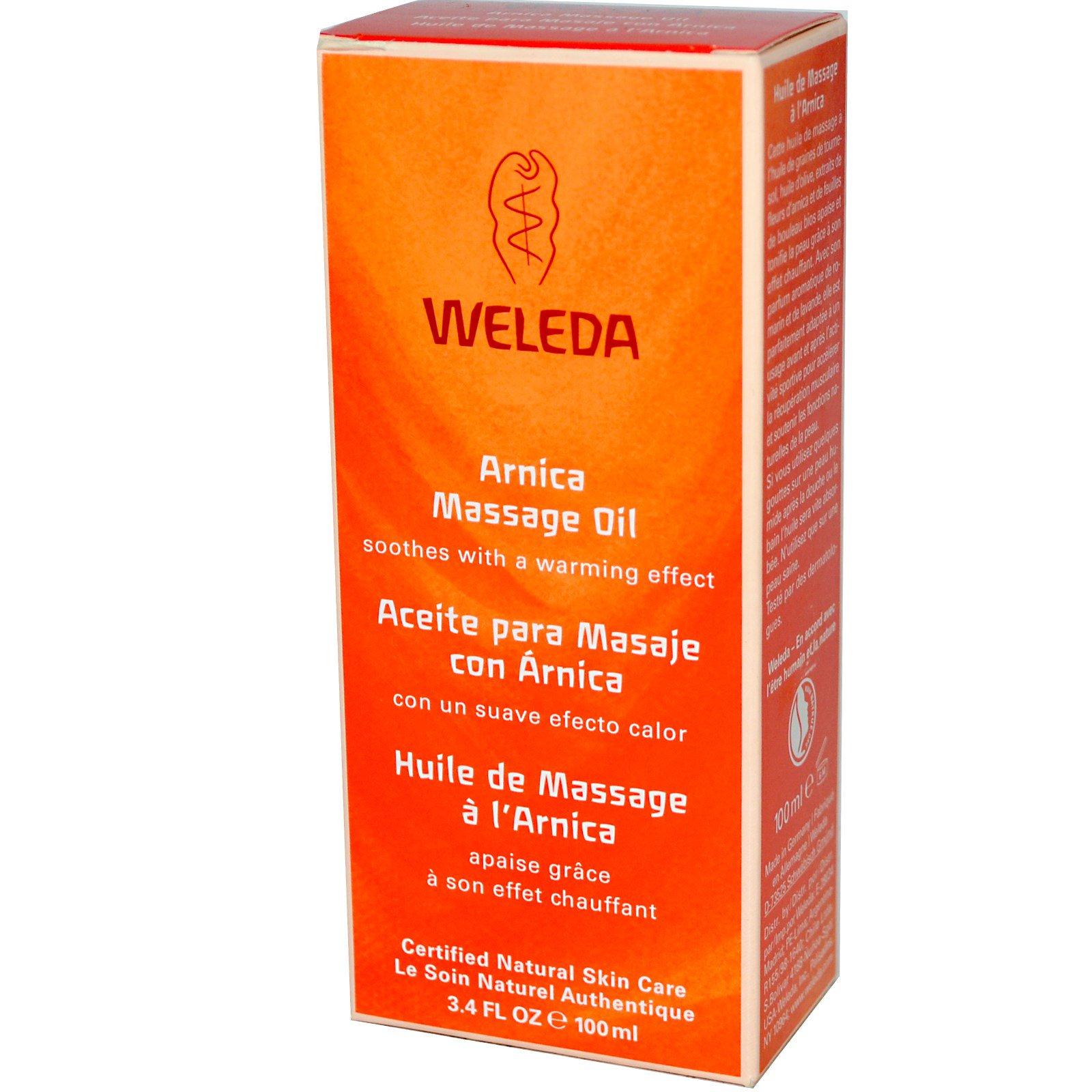 Weleda, Массажное масло Arnica, 100 мл (3.4 жидких унций)