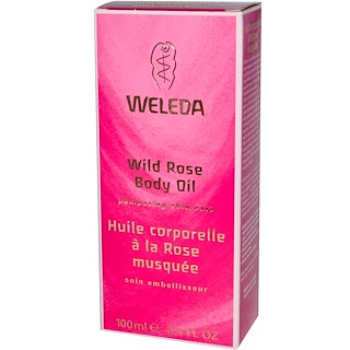 Weleda, 野生の薔薇のボディオイル, 3.4液量オンス (100 ml)