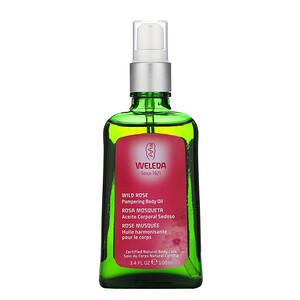 Веледа, Pampering Body & Beauty Oil, Wild Rose Extracts, 3.4 fl oz (100 ml) отзывы покупателей