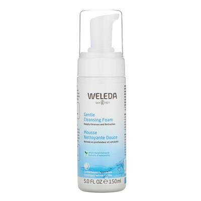 Купить Weleda Gentle Cleansing Foam, Witch Hazel Extracts, 5.0 fl oz (150 ml)