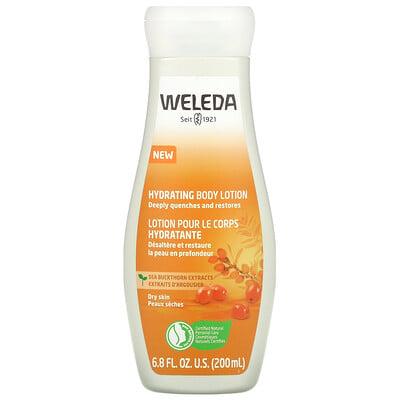 Weleda Hydrating Body Lotion, Sea Buckthorn Extracts, 6.8 fl oz (200 ml)